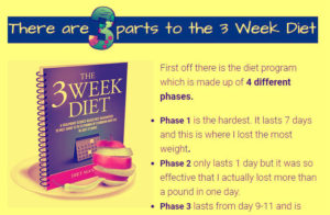 3 week diet plan review