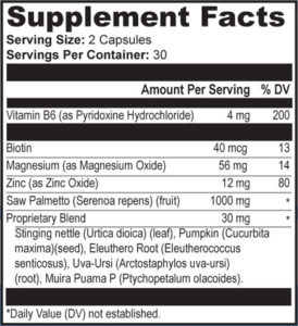 provillus supplement fact