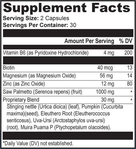 provillus supplement fact