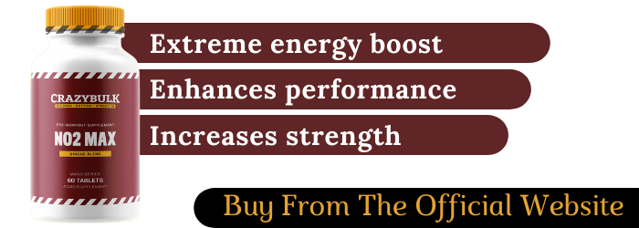 No2 Max Nitric Oxide Steriod Extreme Energy Boost