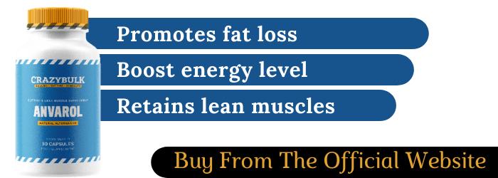 Anvarol Anavar Promotes fat loss