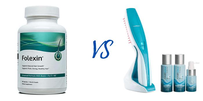 hair max vs folexin